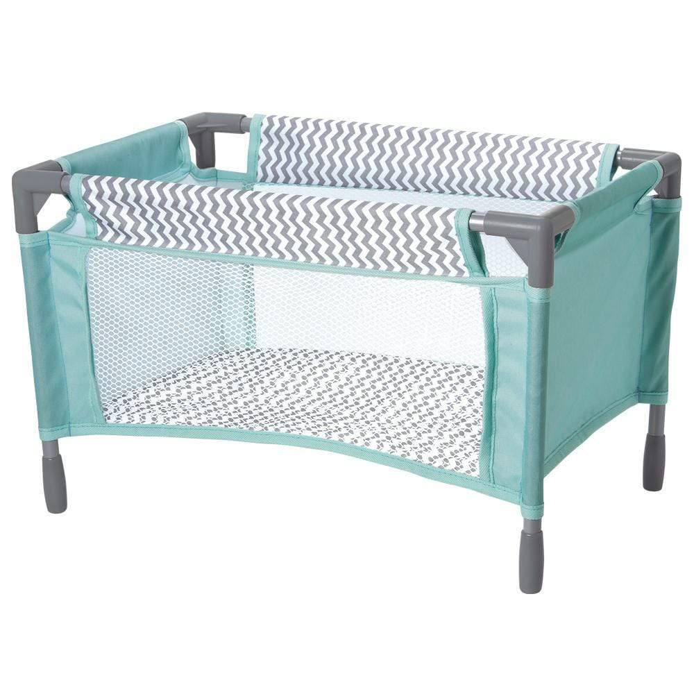 Zig Zag Playpen Bed Baby Doll Crib Fits Doll Up To 20 Adora