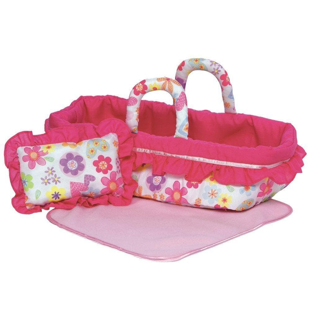 b8b122ee73b Baby Doll Bed - Doll Accessory that Fits 12-15 inch Doll