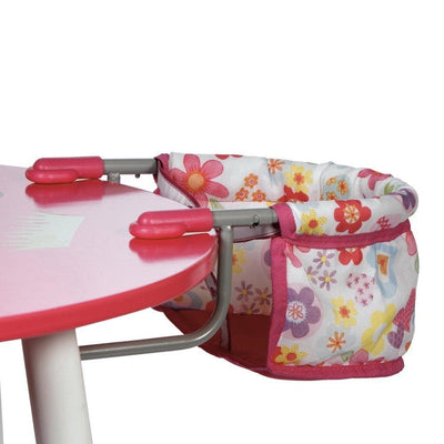 "Adora Baby Doll Accessories Portable Table Feeding Seat, fits 15-16"" dolls"