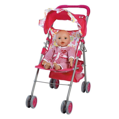 "Adora Baby Doll Stroller Medium Shade Umbrella, Fits 15-20"" Baby Dolls"