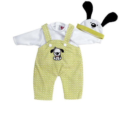 Adora Baby Doll Clothes, Baby Doll Dresses - Puppy Play Overalls