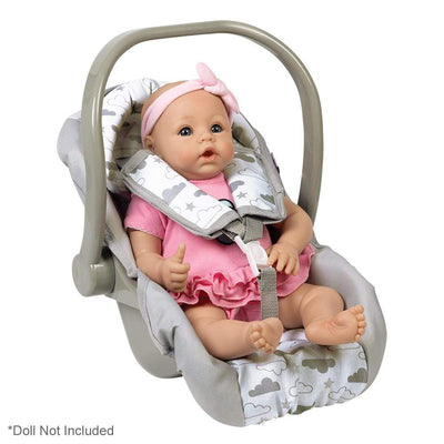 Adora Baby Doll Accessories - Doll Car Seat Carrier, Twinkle Stars