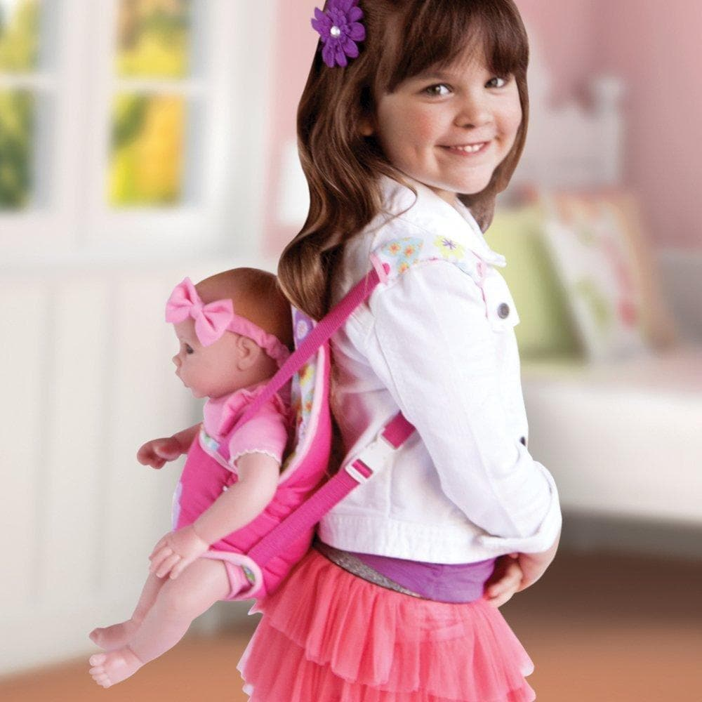 555baf2a6 Baby Doll Carrier Snuggle Easily fits most 13-20 inch Dolls