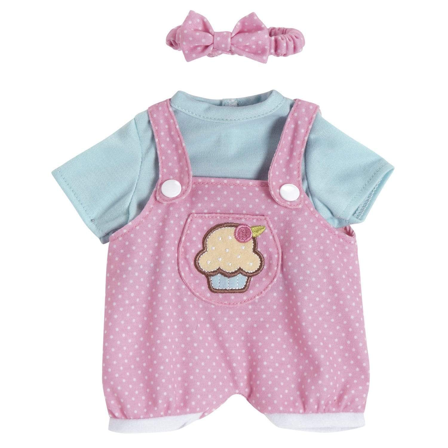 "Cupcake Jumper"" Baby Doll Clothes Fits 13"" PlayTime Doll"
