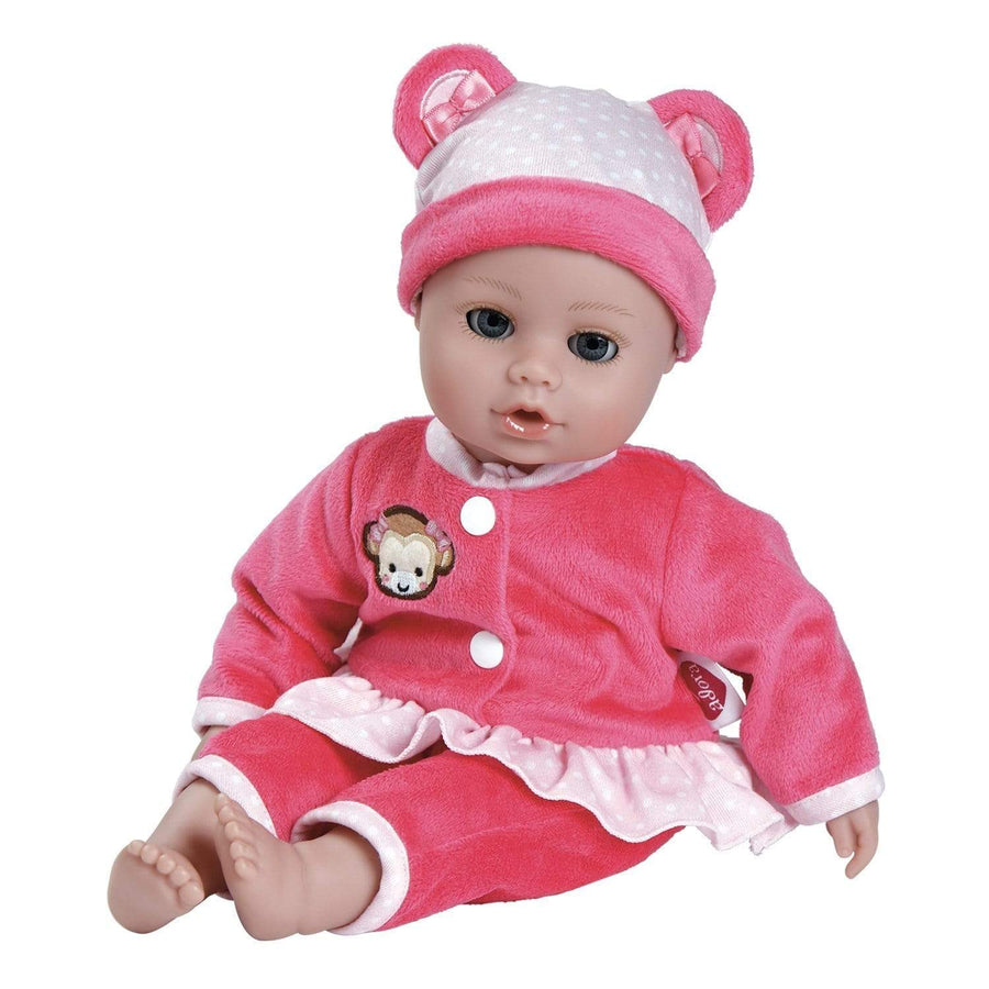 Adora Baby Doll Clothes, Baby Doll Dresses - Playtime Pink Monkey