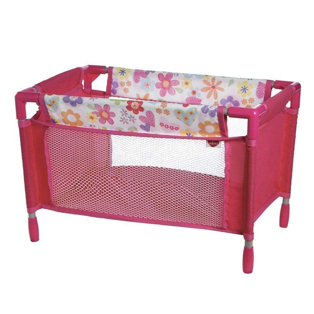 Baby Doll Crib Playpen Bed Fits 13 To 20 Baby Doll Adora