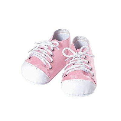 Adora Baby Doll Shoes - Tennis Shoes - Pink/White