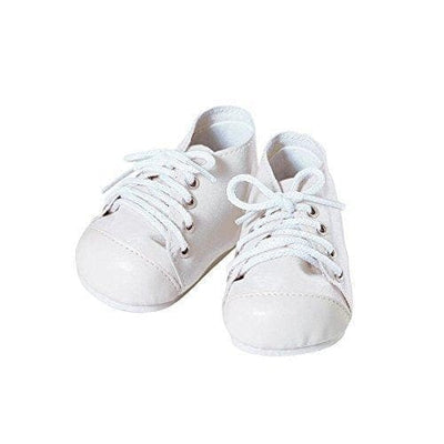 Adora Baby Doll Shoes - Tennis Shoes - White/White
