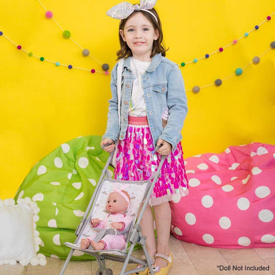 Adora Baby Doll Accessories - Twinkle Stars Doll Umbrella Stroller