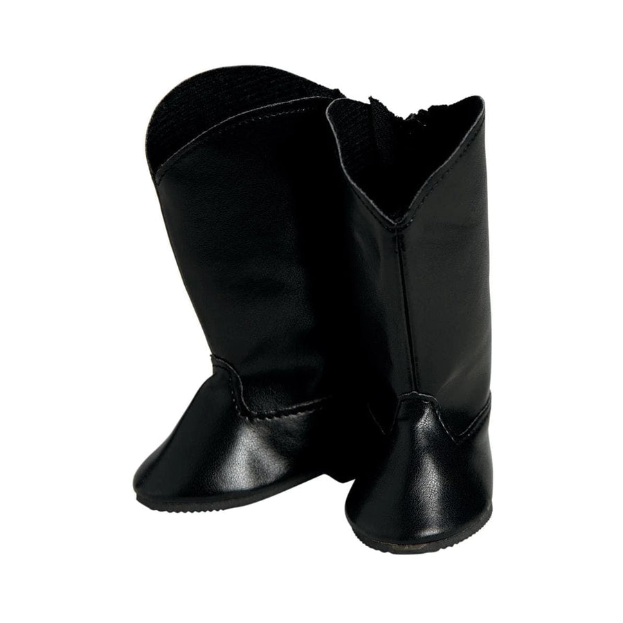 Adora 18 inch Doll Shoes - Black Riding Boots