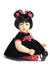 ToddlerTime Doll Black Velvet