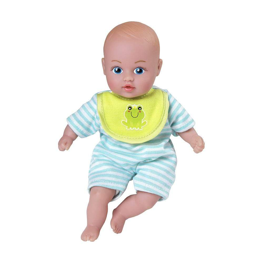 Blue Pjs Baby Tots Mini Boy Baby Doll Cuddly Bean Weighted Body
