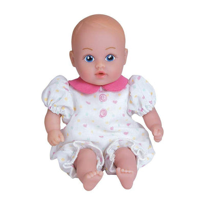 Adora Toys Baby Dolls, Washable Soft Baby Tots White Hearts Pj, Ages 1+