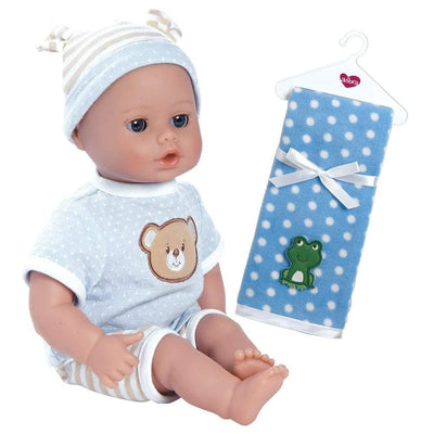 PlayTime Baby Doll Beary Blue Bundle with Blankie | Adora