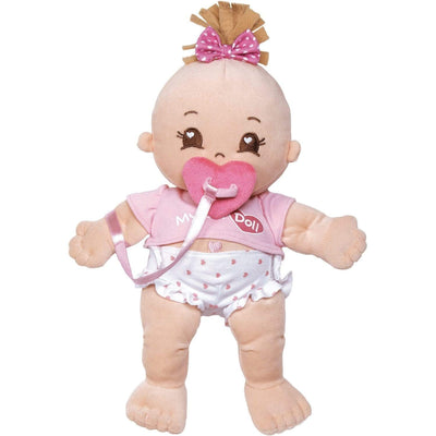 "Adora Toys Baby Dolls, Cloth Doll 15"" My First Adora Baby Tee"