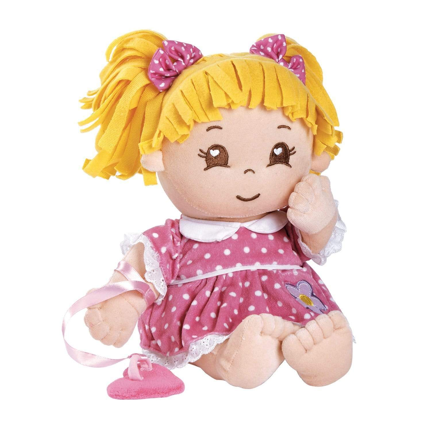 "15"" Cloth Doll My First Adora Dots es with Magnetic Pacifier"