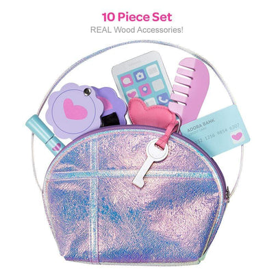 Adora Pretend Play Big Girl Purse Set - 10 pieces