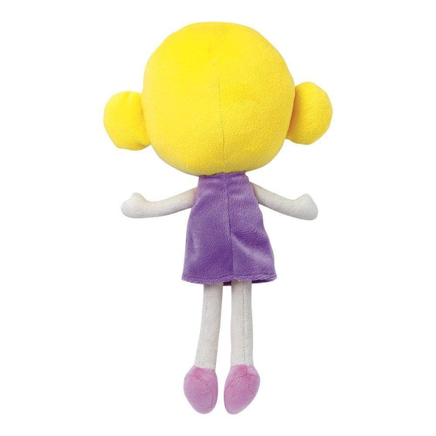 "Adora 11.5"" Petite Rag Doll, Ultra-Soft Microfiber Plush Doll, Softies Sunny"