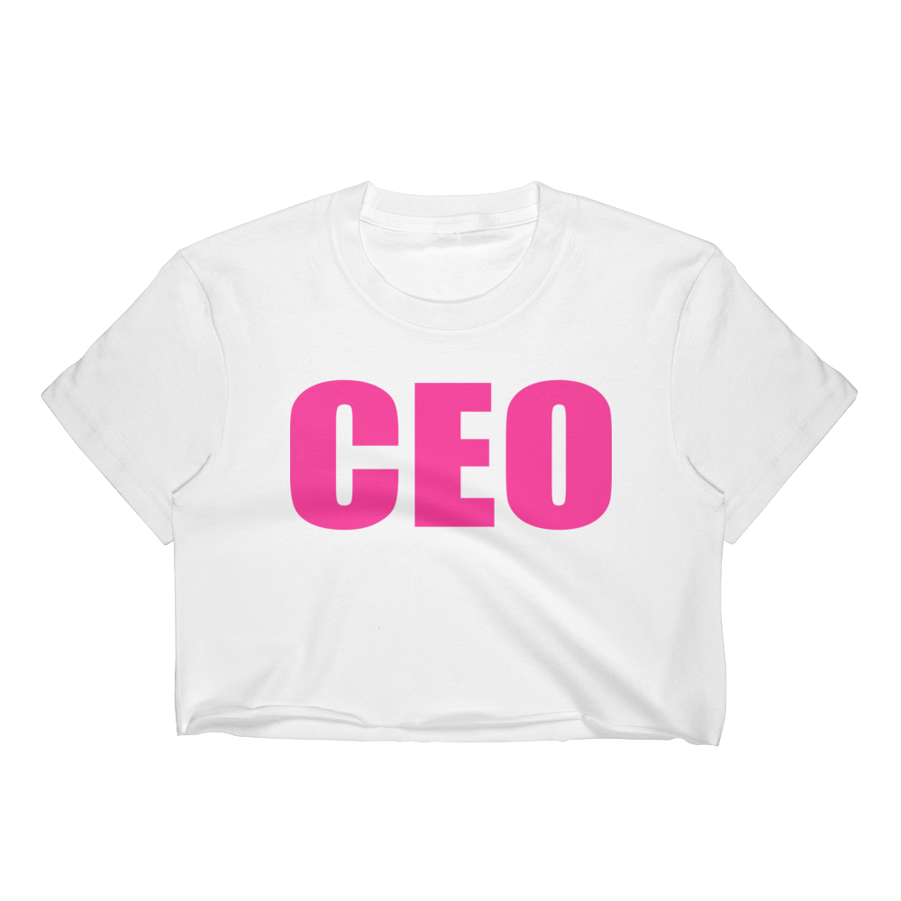 Lady CEO Crop Top