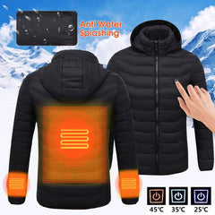 Winter Heated Hoodie