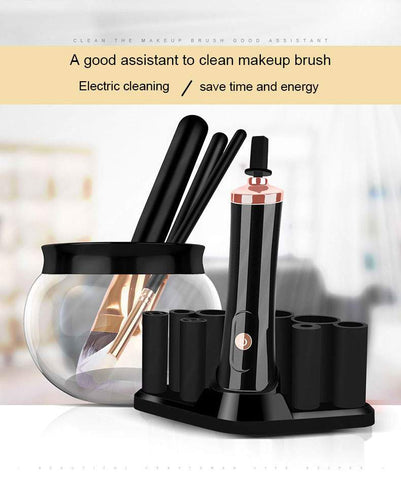 Electronic Makeup Brush Cleaner