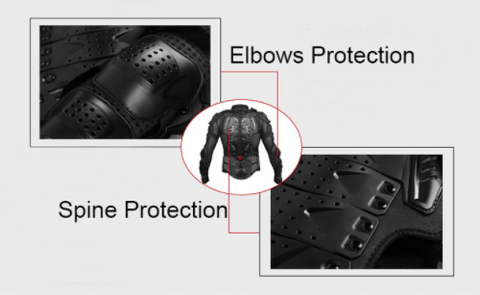 Body Armor Motorcycle Jacket