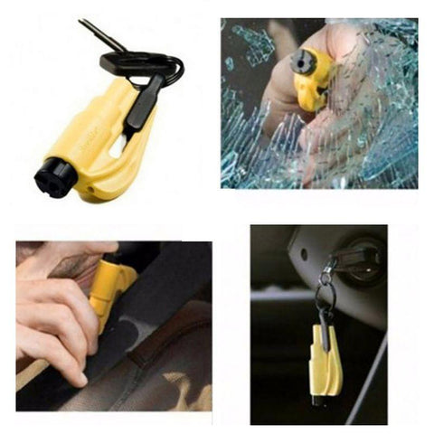 3-in-1 Emergency Escape Keychain Tool
