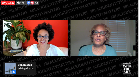 CEO and co-founder, Gina Paige talks with ethnomusicologist, Dr. Portia K. Maultsby
