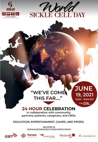 World Sickle Cell Day event on June 19, 2021