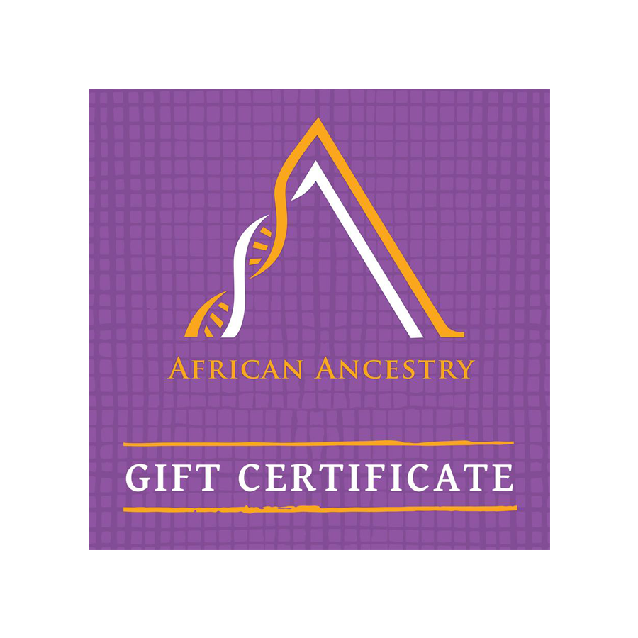 African Ancestry Gift Certificate