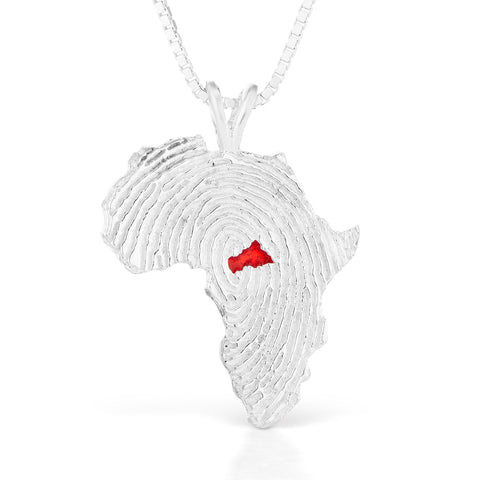 Central African Republic Heirloom Pendant