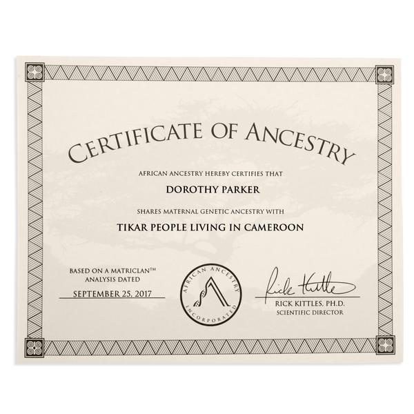 (6) Family Celebration Certificates