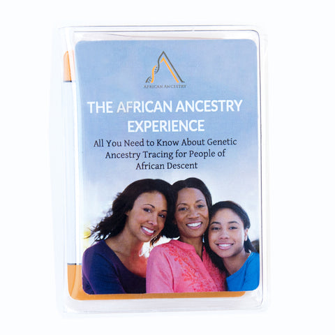 African Ancestry Experience Cards Front