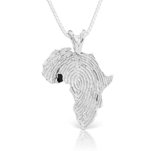 Ghana Heirloom Pendant - Sterling Silver 34mm