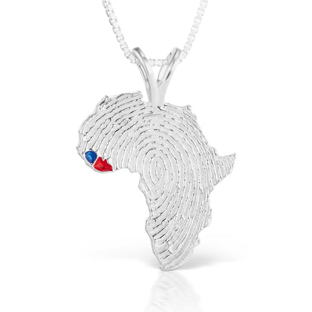 Sierra Leone and Liberia Heirloom Pendant