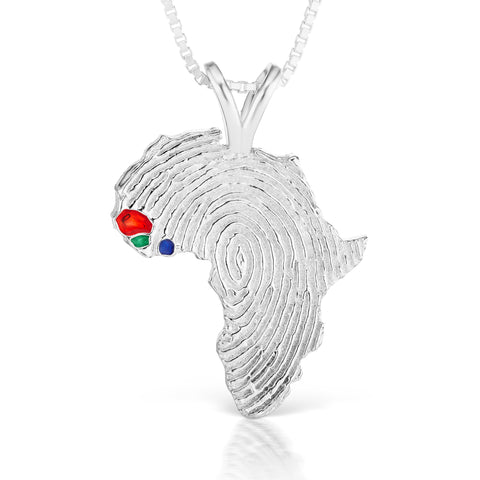 Senegal, Guinea-Bissau and Sierra Leone Heirloom Pendant