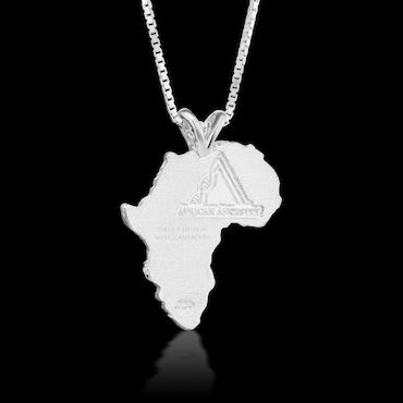 Cameroon Heirloom Pendant - Sterling Silver 43mm