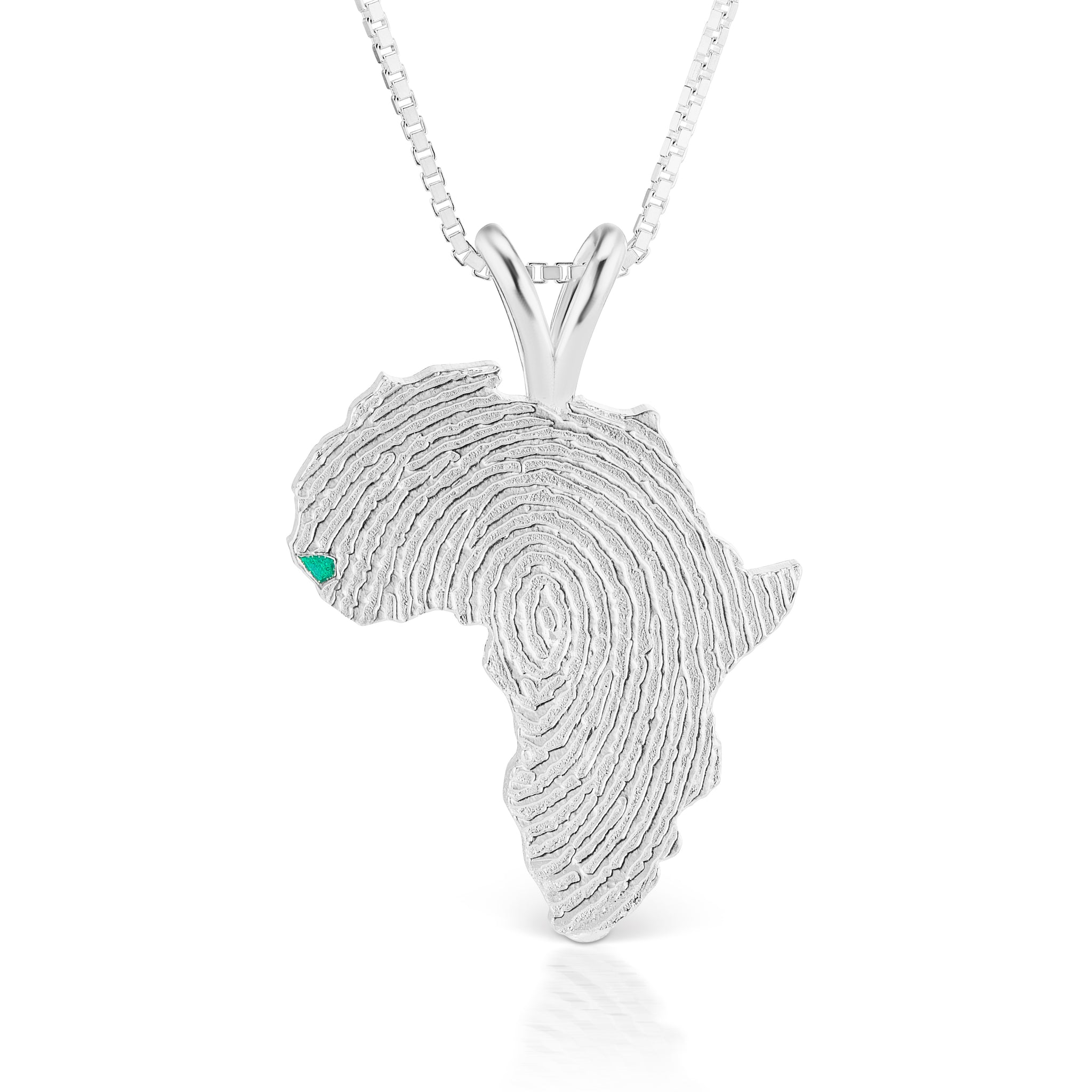 Guinea-Bissau Heirloom Pendant - Sterling Silver 34mm