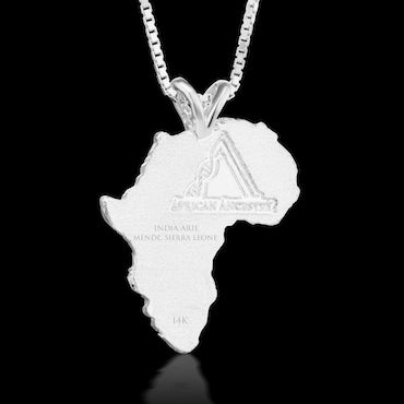 Sierra Leone Heirloom Pendant - Sterling Silver 43mm