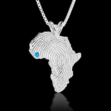 Sierra Leone Heirloom Pendant -  Sterling Silver 34mm