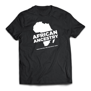 African Ancestry Continent T-shirt
