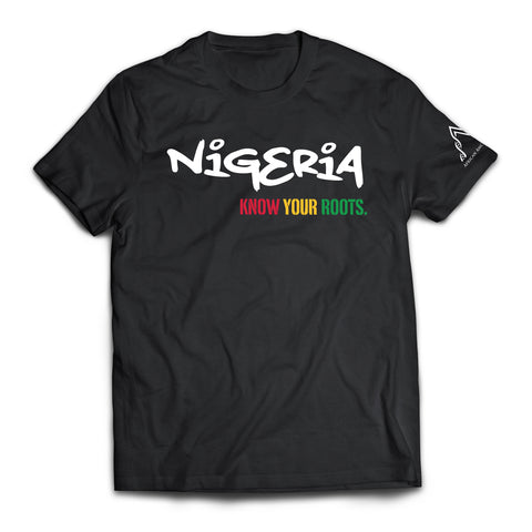 African Ancestry Nigeria T-Shirt