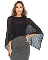 Cinque Terre Knit Mesh Wrap - 5 colors - cactus + olives