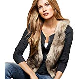 Almost Famous Faux Fur Vest - cactus + olives