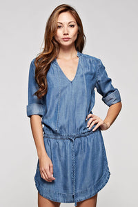 Kayla Tencel Denim dress by Lovestitch