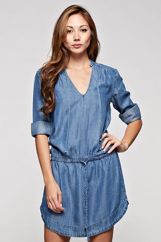 Julia Tencel Denim dress
