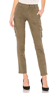 Sanctuary Brushed Cargo Pants - cactus + olives