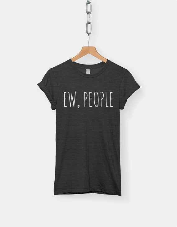 Ew, People T Shirt - cactus + olives