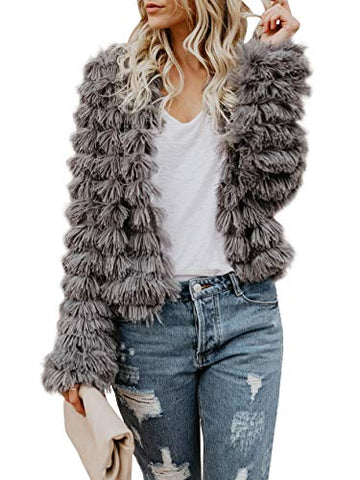 Shagadelic Fuzzy Jacket - 2 colors - cactus + olives