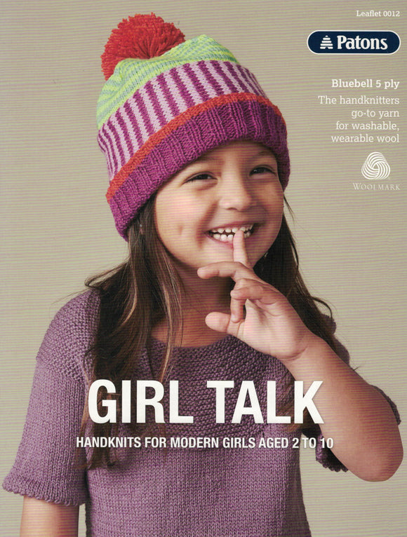 Patons Leaflet 0012 - Girl Talk (Patterns Books & Leaflets)